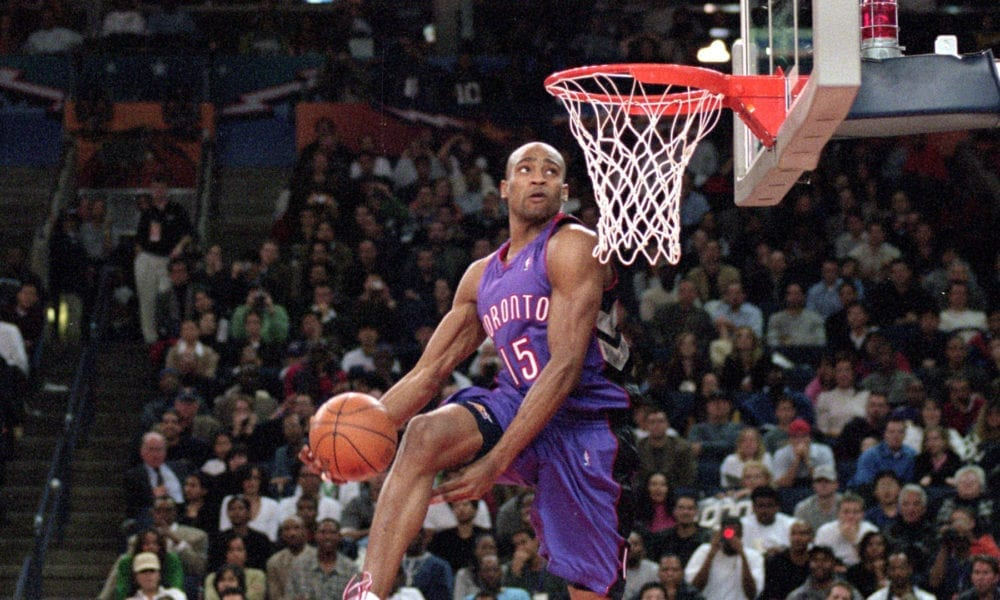 Vince Carter Explains Why He Doesn't Want Gimmicks In Dunk Contest
