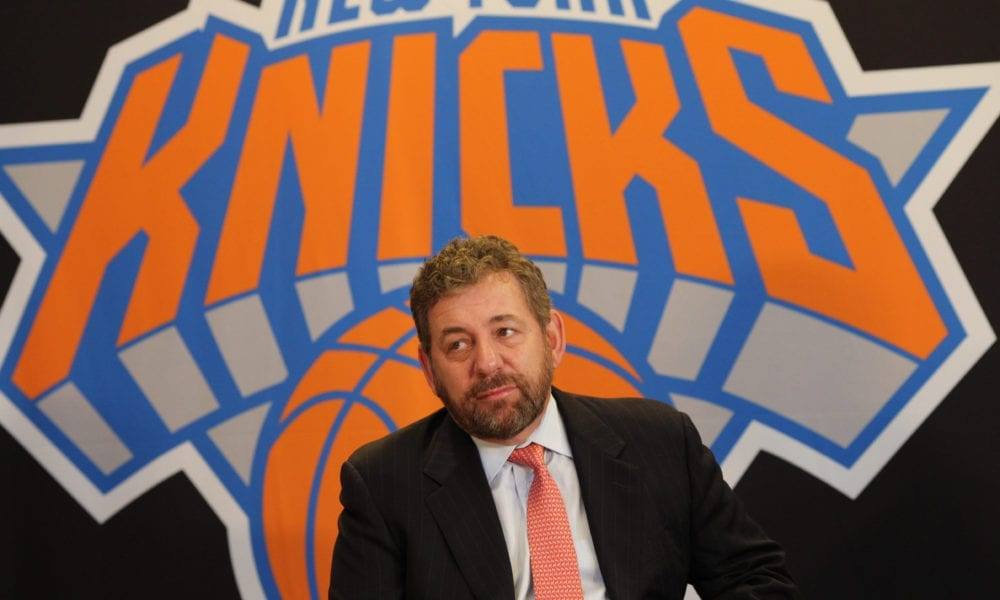 MSG Denies That James Dolan Is Trying To Sell Knicks