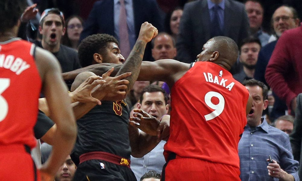 Cavs And Raptors Players Respond To Serge Ibaka Fighting Marquese Chriss