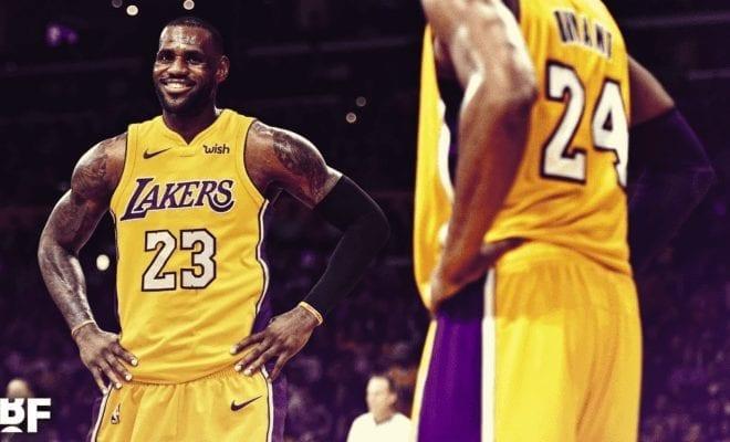kobe bryant lebron james basketball forever