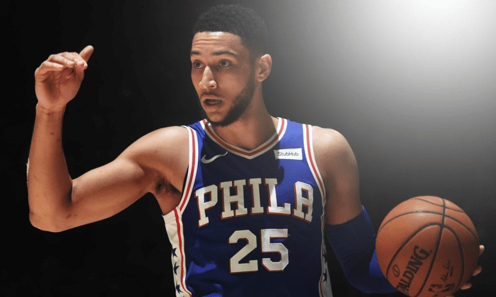 ben simmons basketball forever