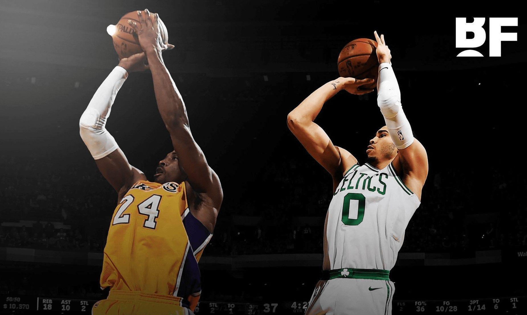 你為什麼要那麼刻苦的練籃球?Tatum:我想成為Kobe!