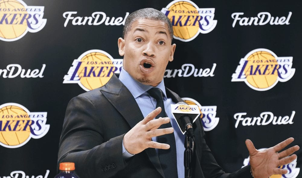 tyronn lue lakers basketball forever