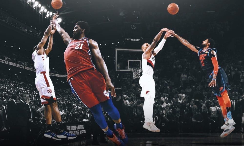 kawhi leonard damian lillard basketball forever