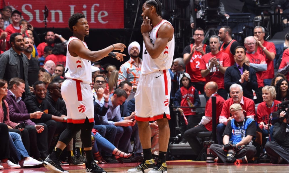 kawhi leonard raptors warriors basketball forever