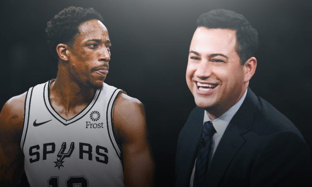 DeMar DeRozan Is Pissed Off With Jimmy Kimmel
