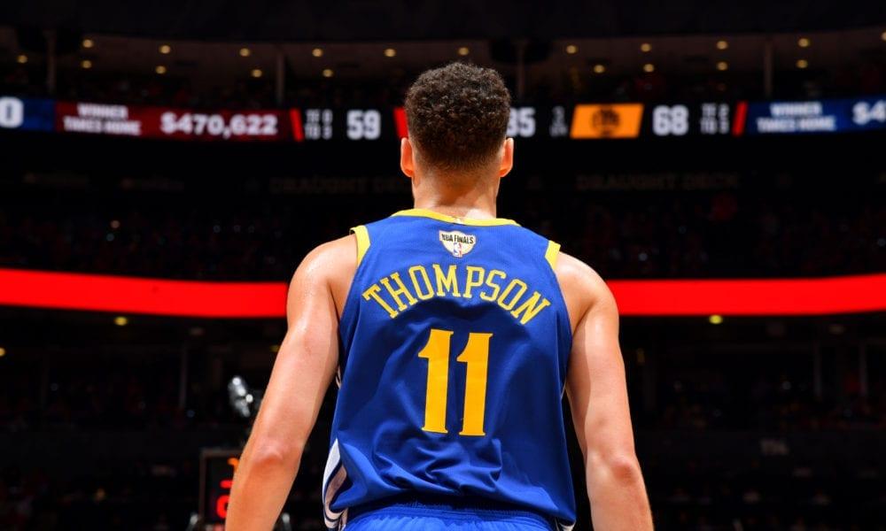 klay thompson basketball forever warriors