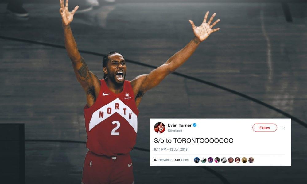 NBA Players React To The Raptors Winning The Championship