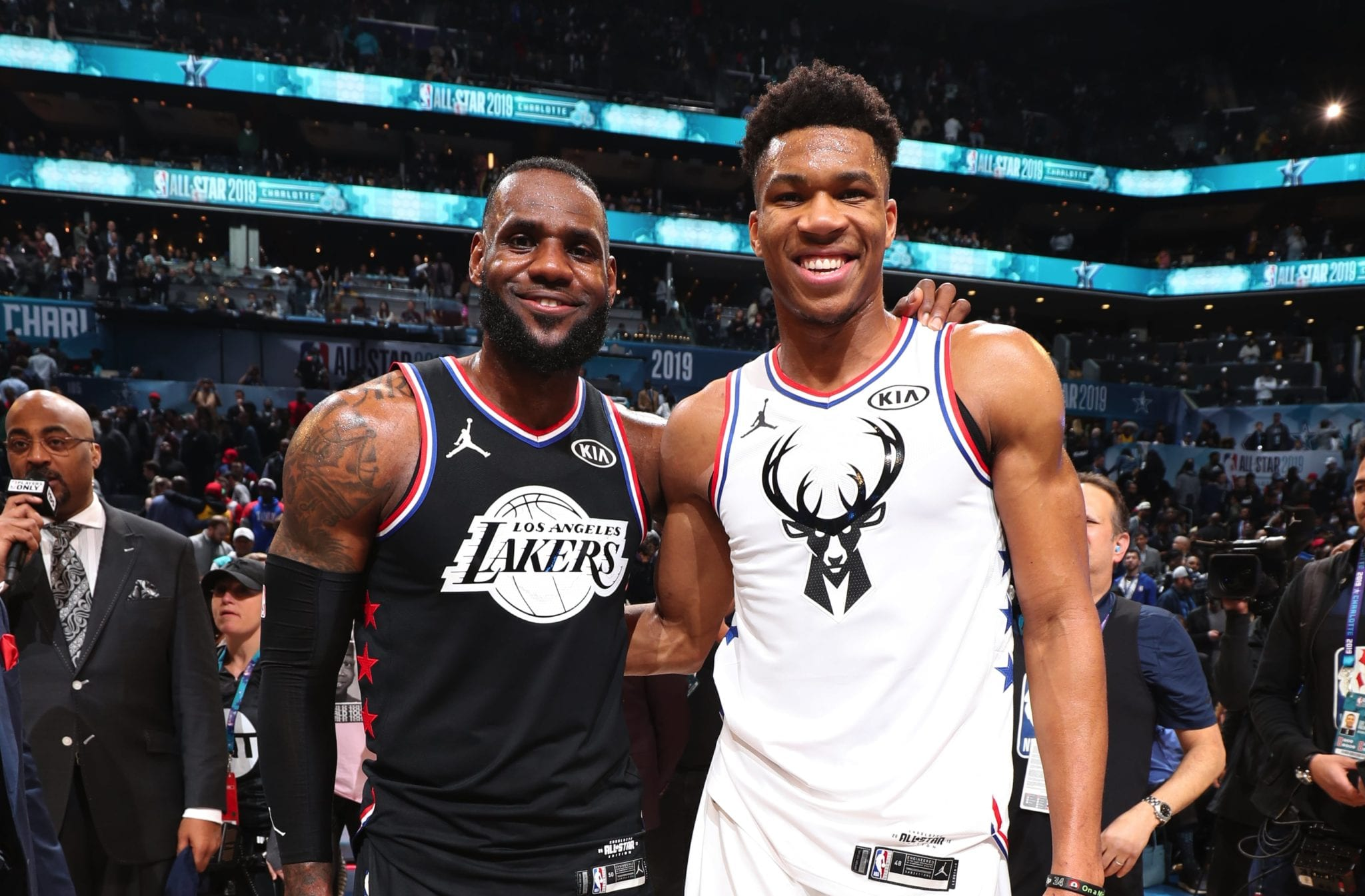 lebron giannis all-star basketball forever