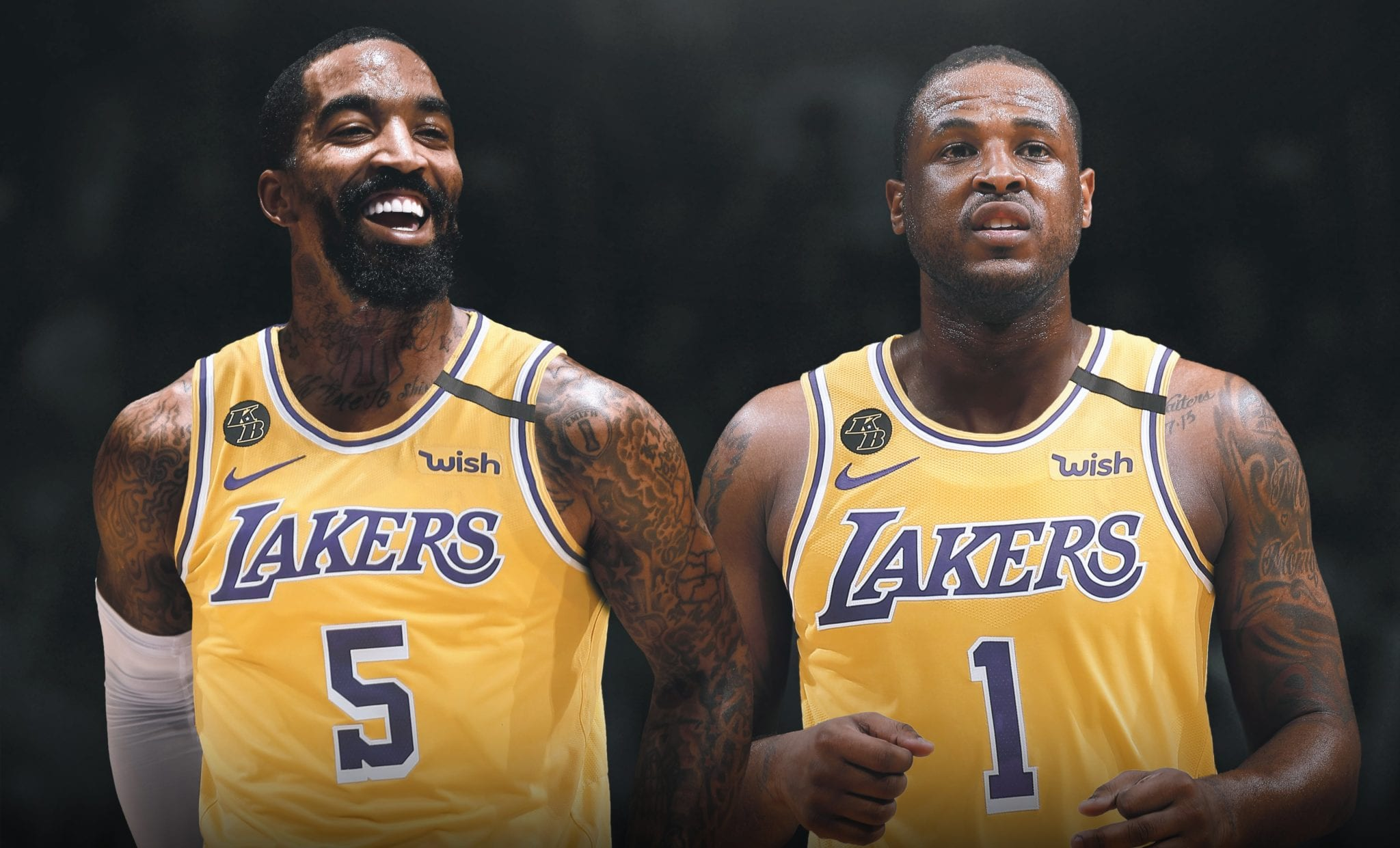 jr smith lakers dion waiters