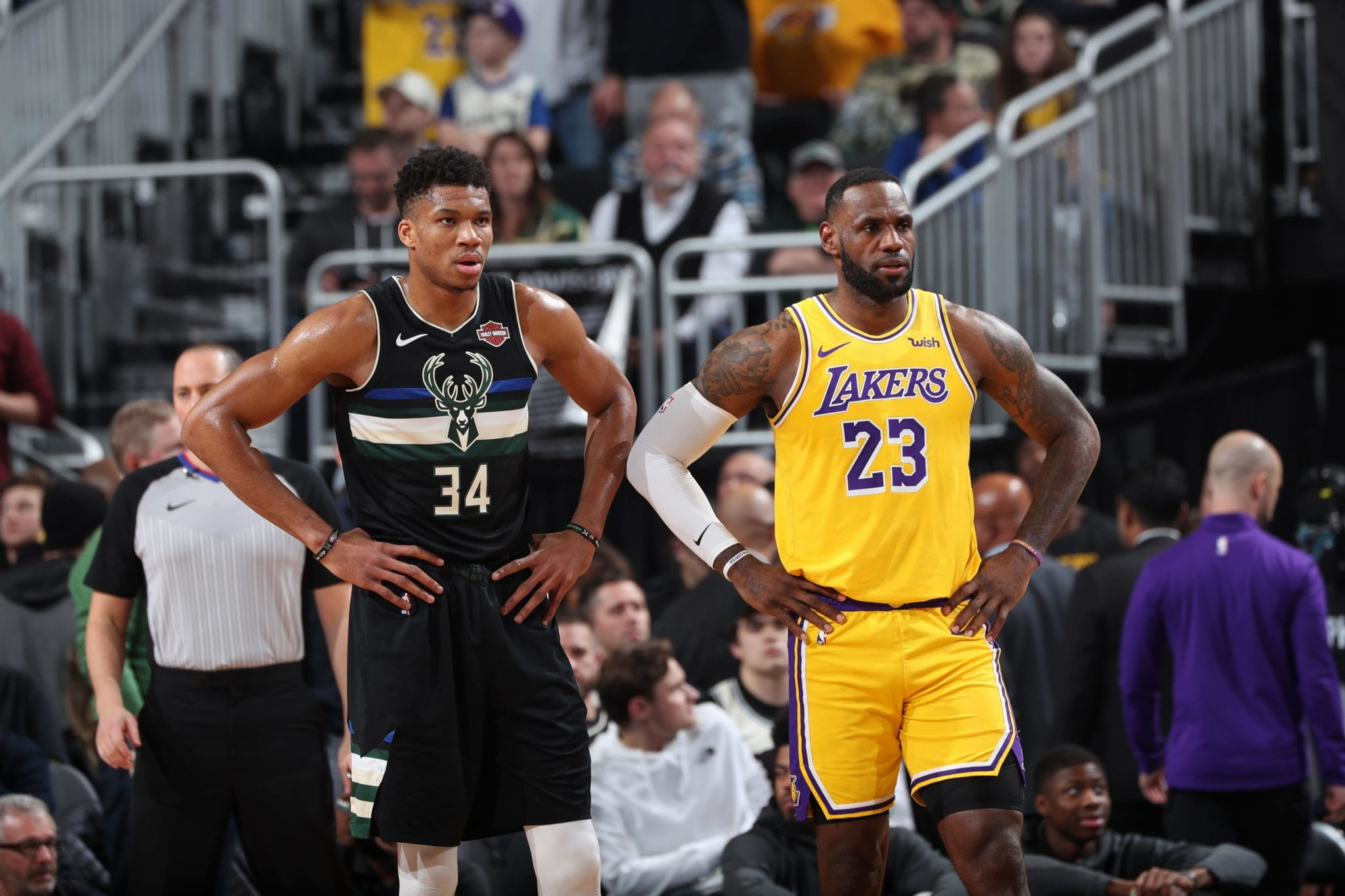 lebron giannis lakers bucks