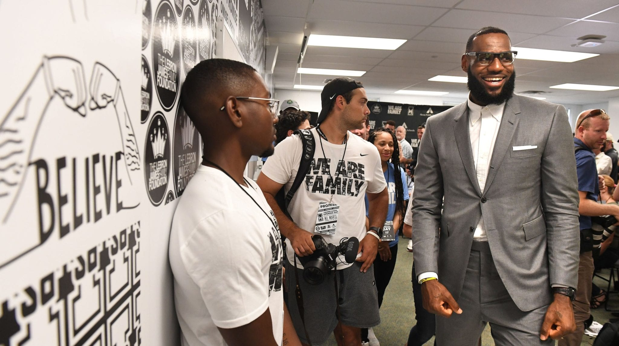 LeBron James' 'I Promise' School To Feature In New Documentary Series