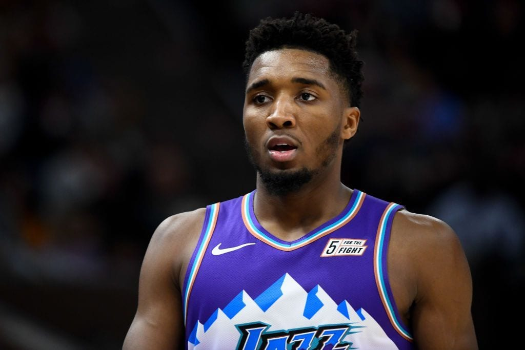 Donovan Mitchell Provides Medical Update