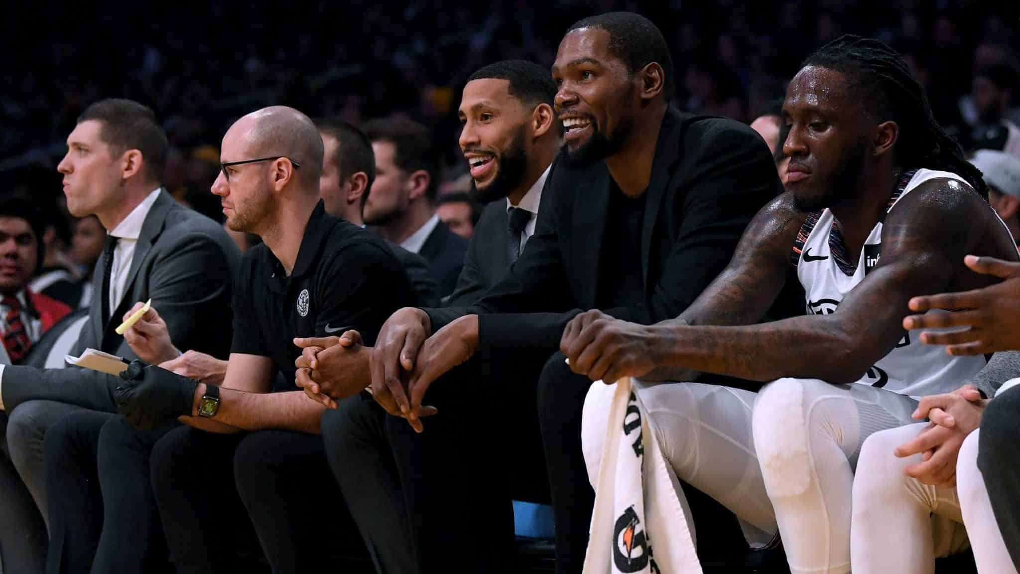 Nets: The Nets Bench