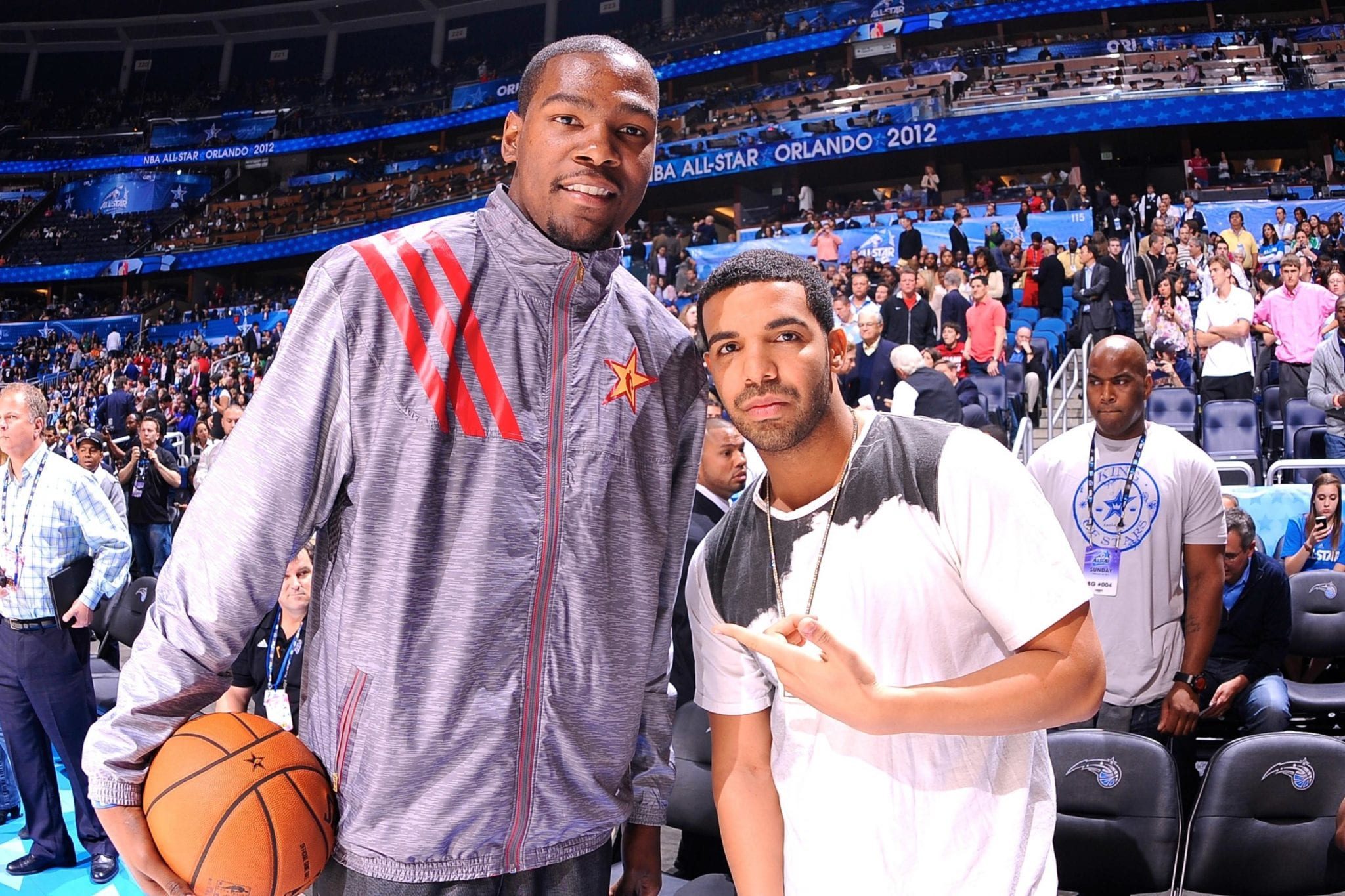 Drake and Kevin Durant Featured