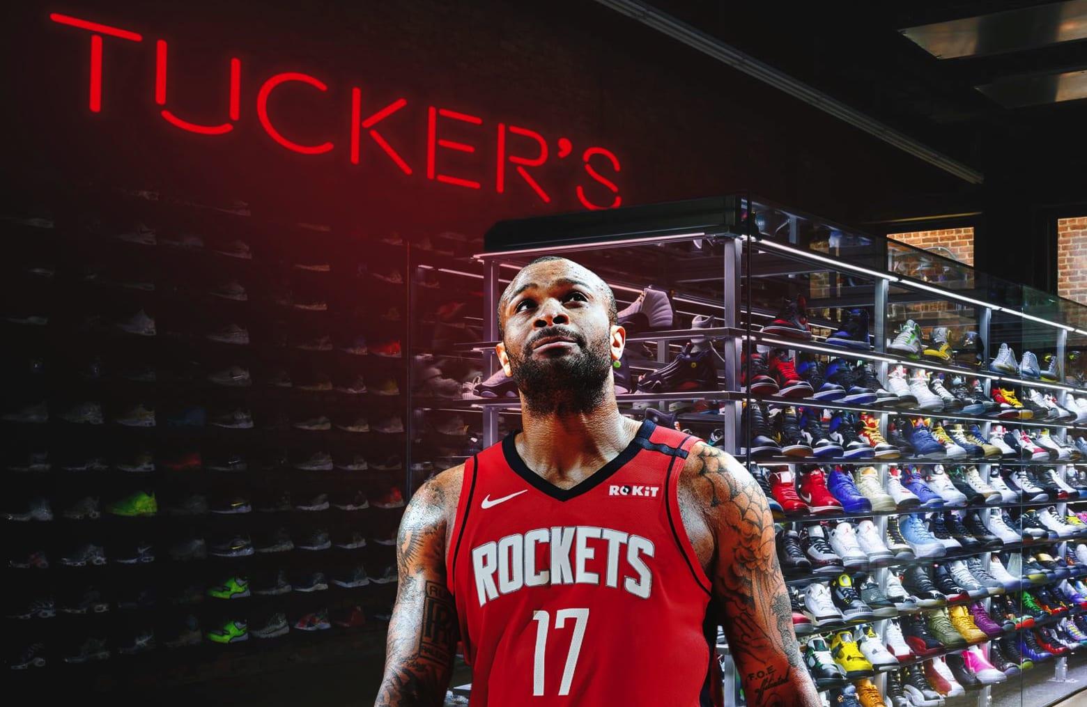 PJ tucker sneaker store