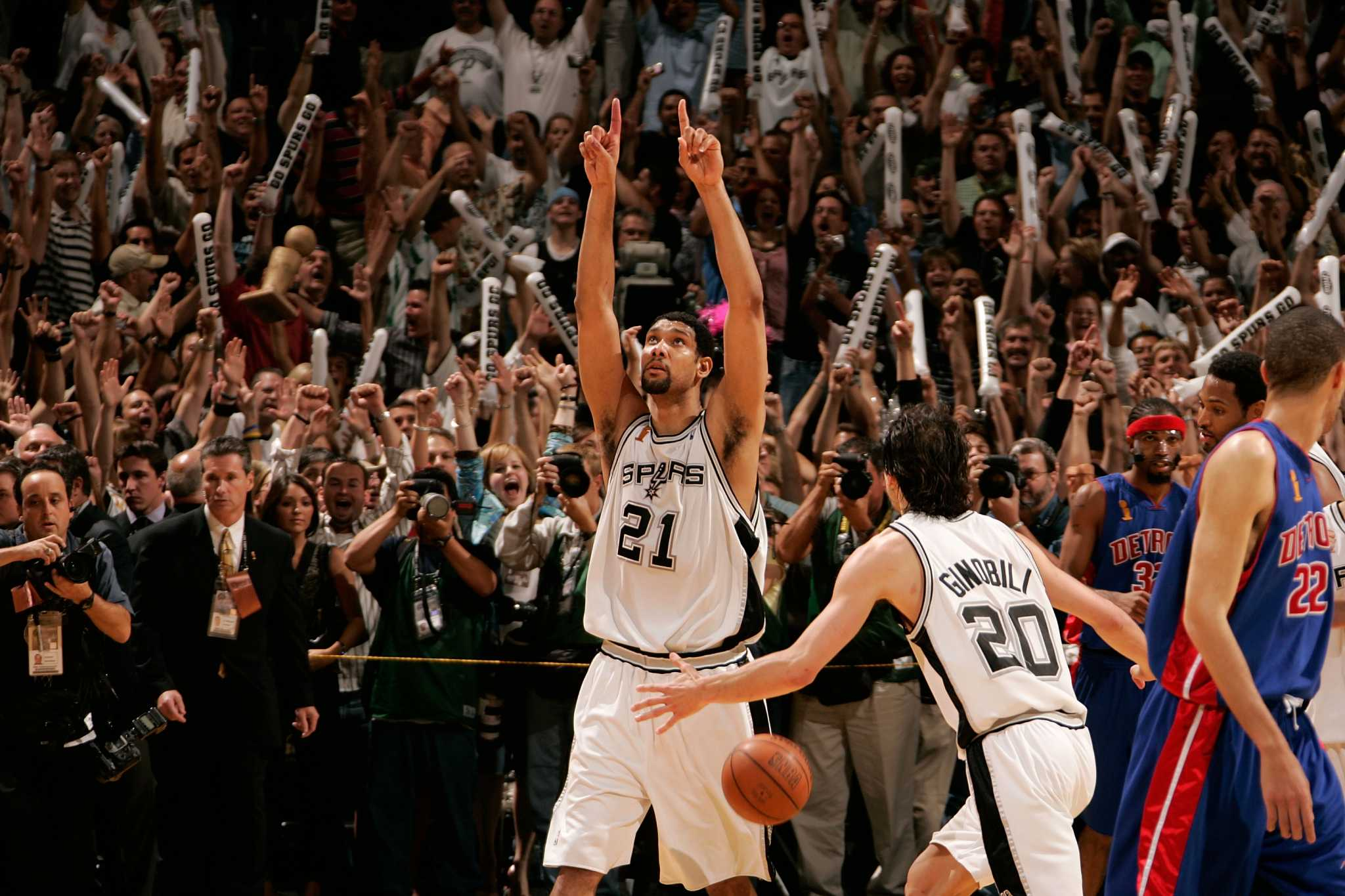 2005 NBA Finals Flashback | Spurs vs Pistons, Score, MVP, Highlights