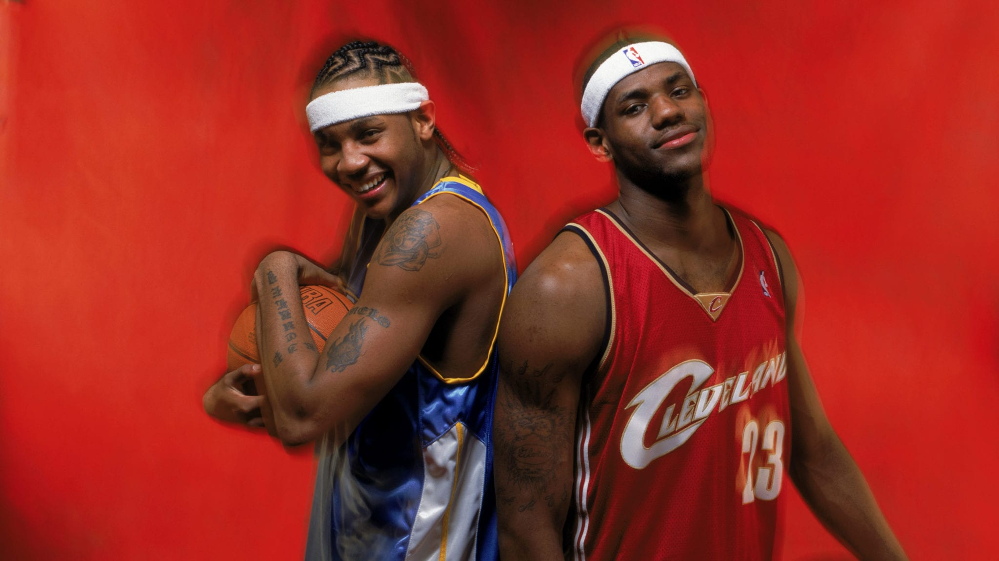 The Day LeBron James Saved Carmelo Anthony's Life