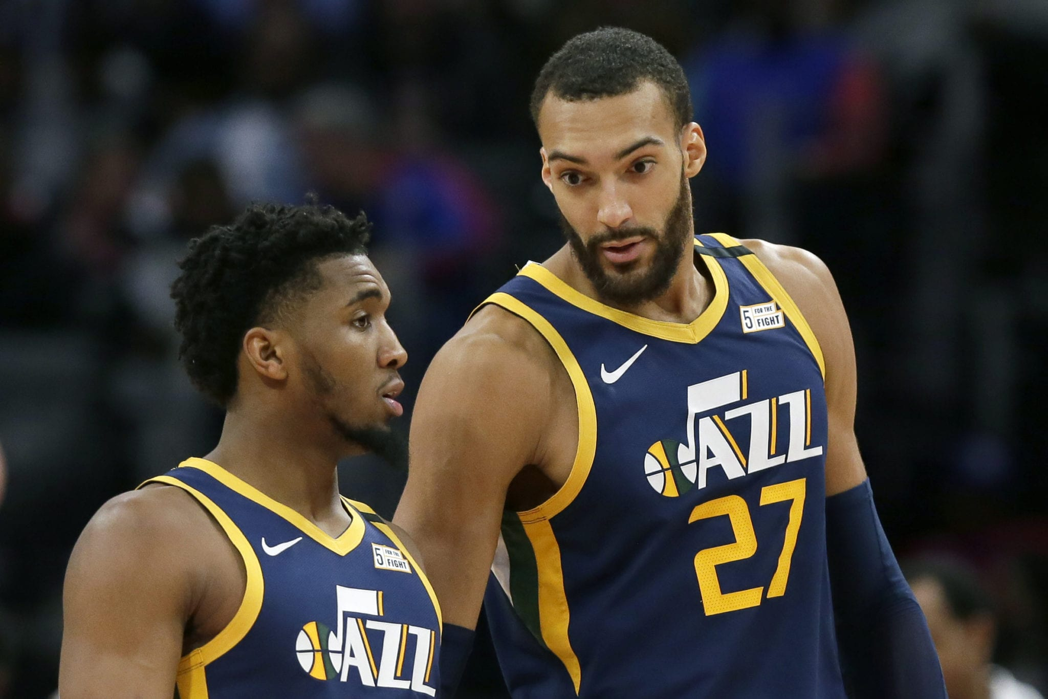 Rudy Gobert, Donovan Mitchell and Rest of Utah Jazz Cleared of Coronavirus