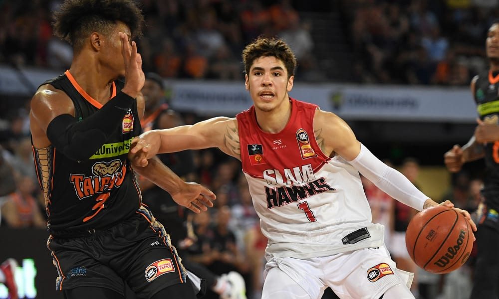LaMelo Ball in the Australian NBL