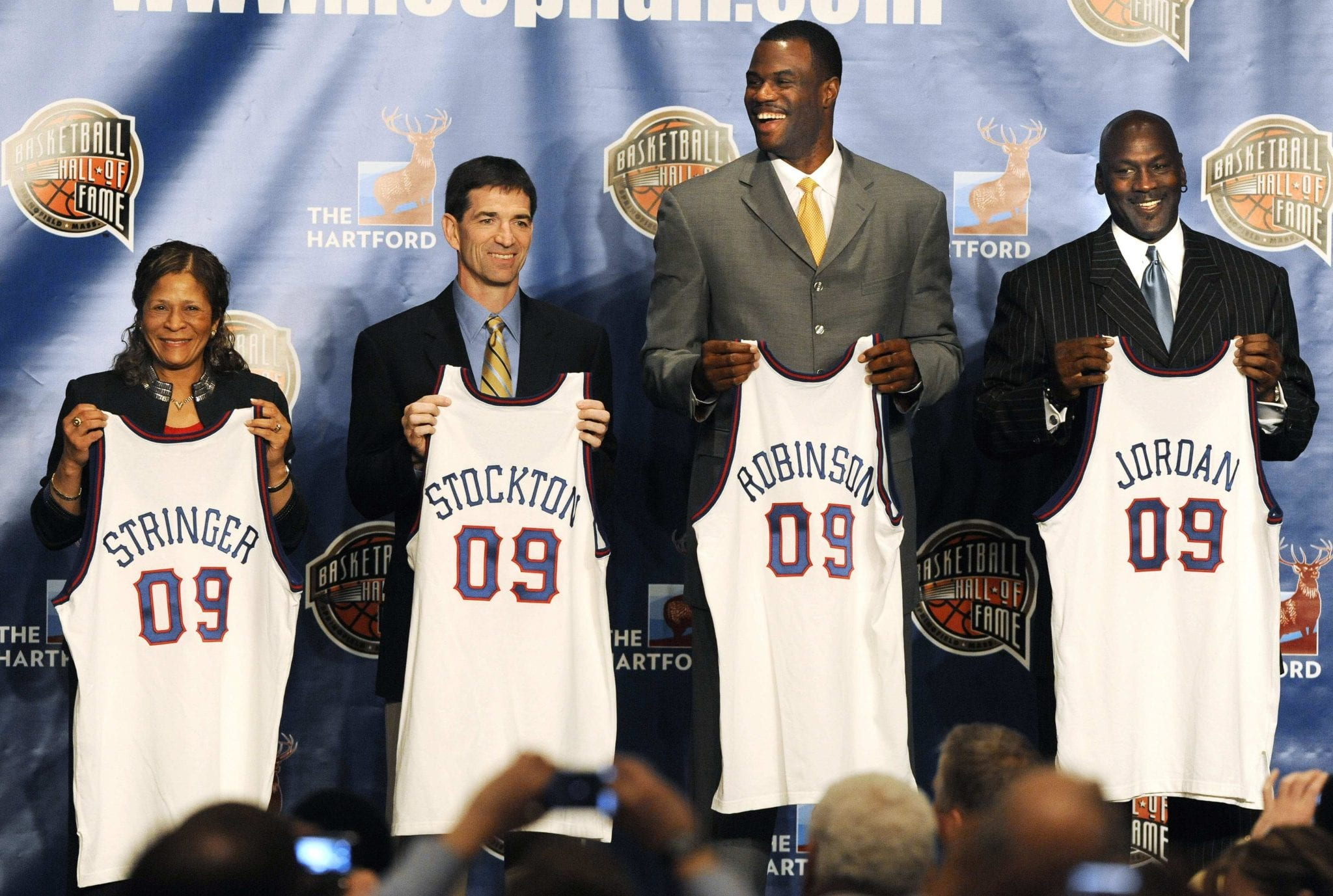 Flashback: Michael Jordan and The Basketball Hall of Fame's Class of 2009