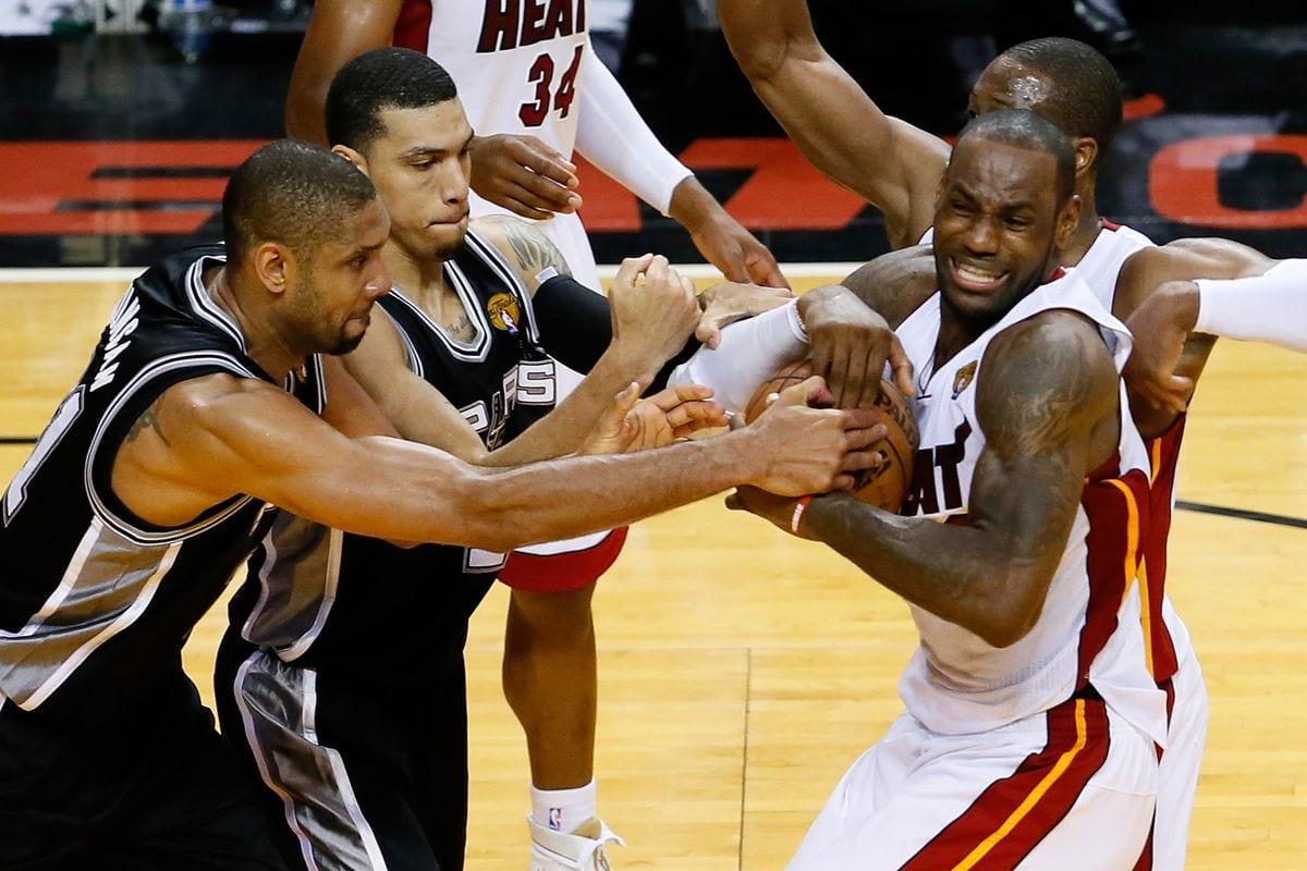 2013 NBA Finals Flashback: LeBron James Hands Tim Duncan His Only Finals Loss