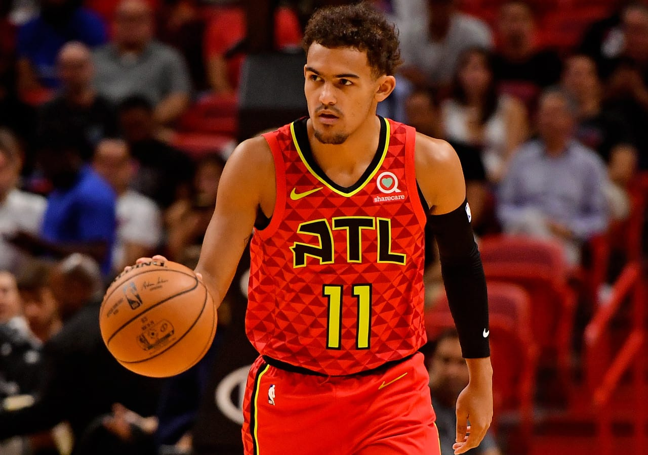 Trae Young Odds-On Favorite To Win NBA HORSE Competition