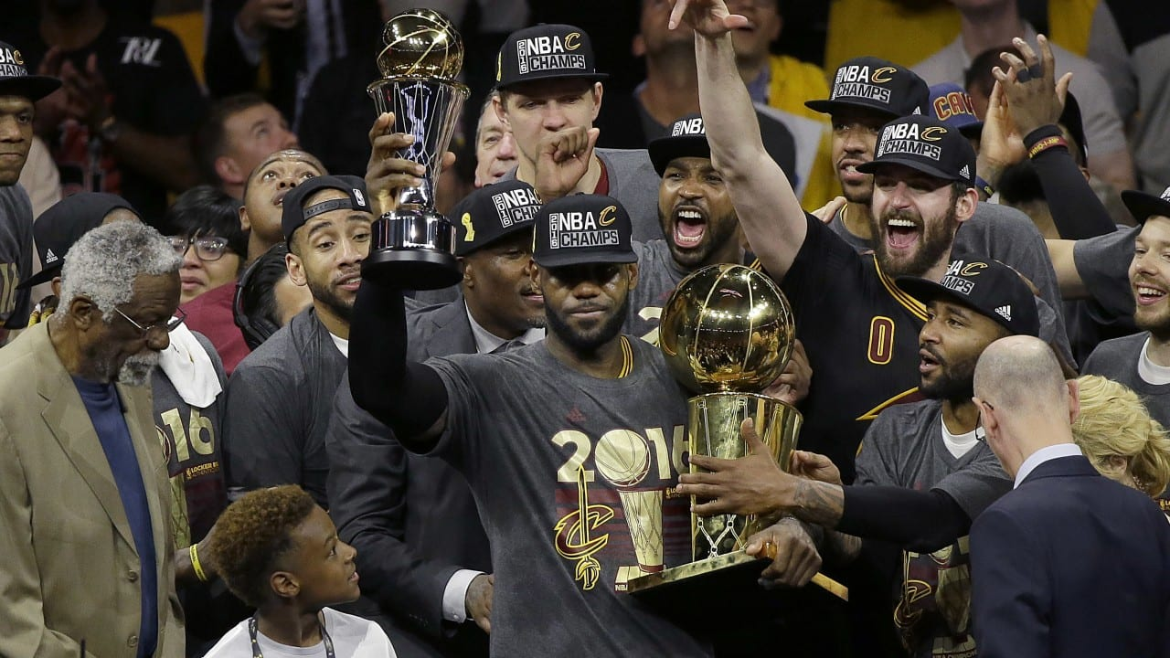 2016 NBA Finals | Cavs Become Champions, Stats, MVP, Game 7