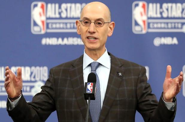 NBA Comissioner Adam Silver