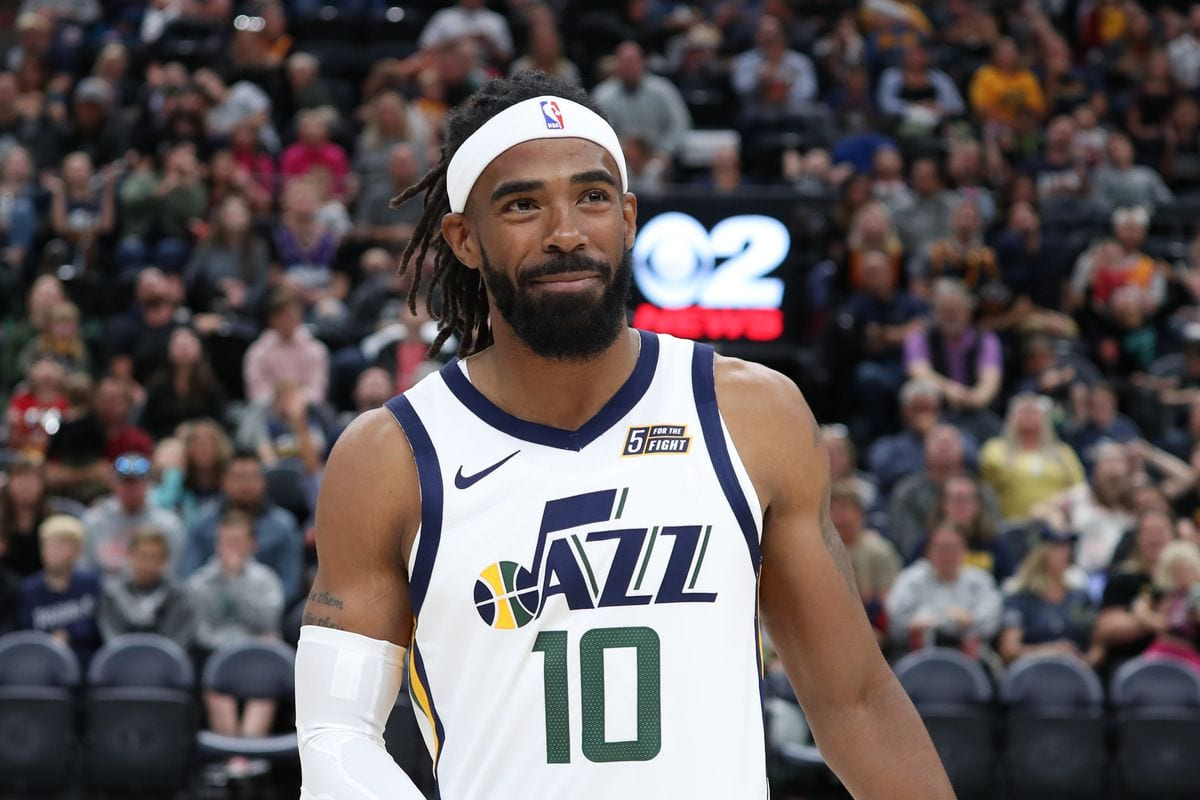Mike Conley Utah Jazz