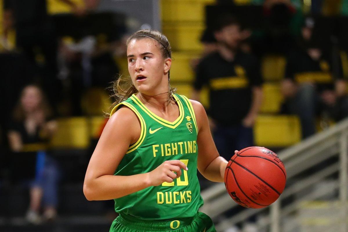 Sabrina Ionescu Oregon Ducks