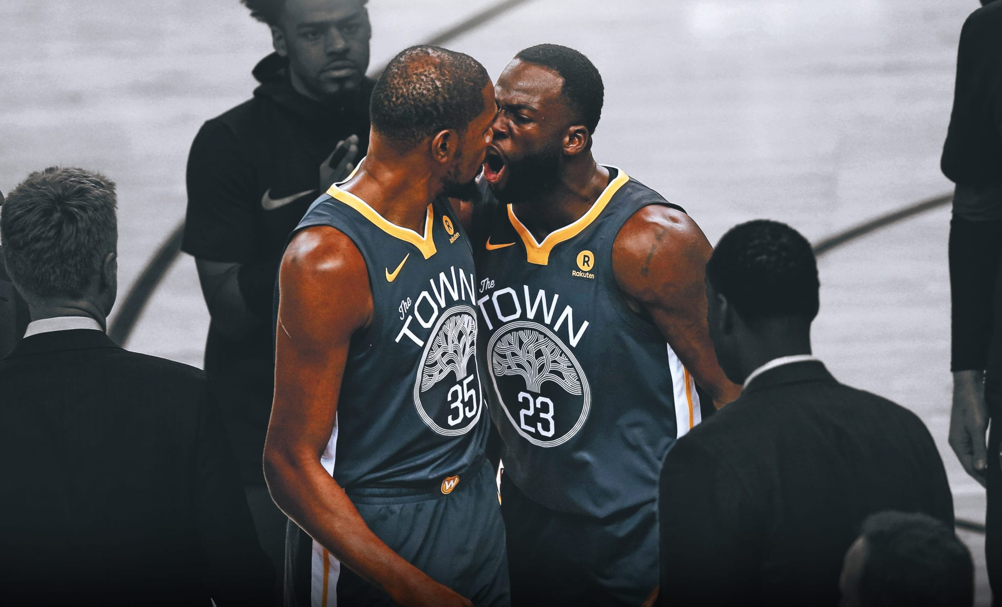 draymond green kevin durant fight