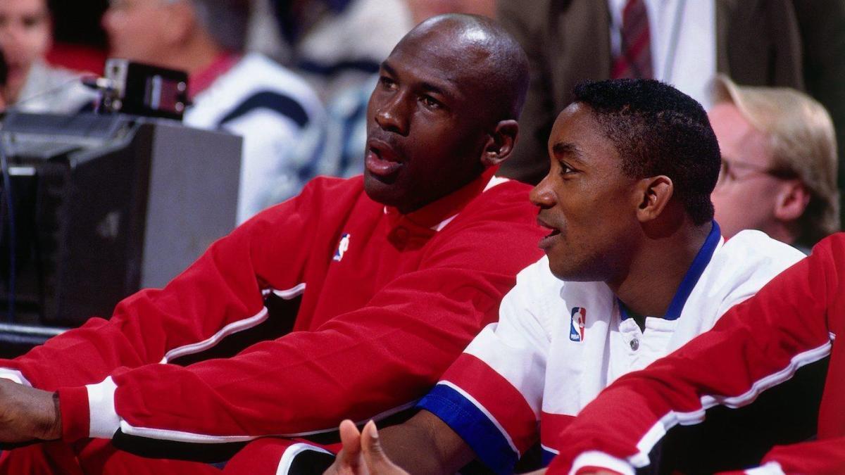 MJ and Isiah Thomas