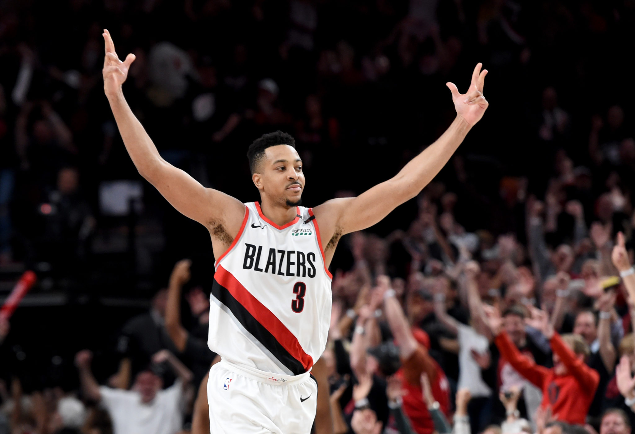 CJ McCollum Out For At Least A Month With Fractured Left Foot