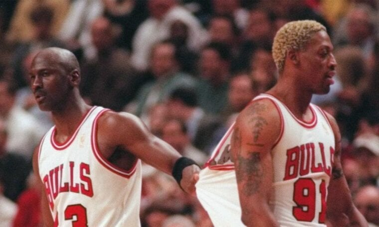 "MJ and Rodman are just a few shown in ""The Last Dance"""