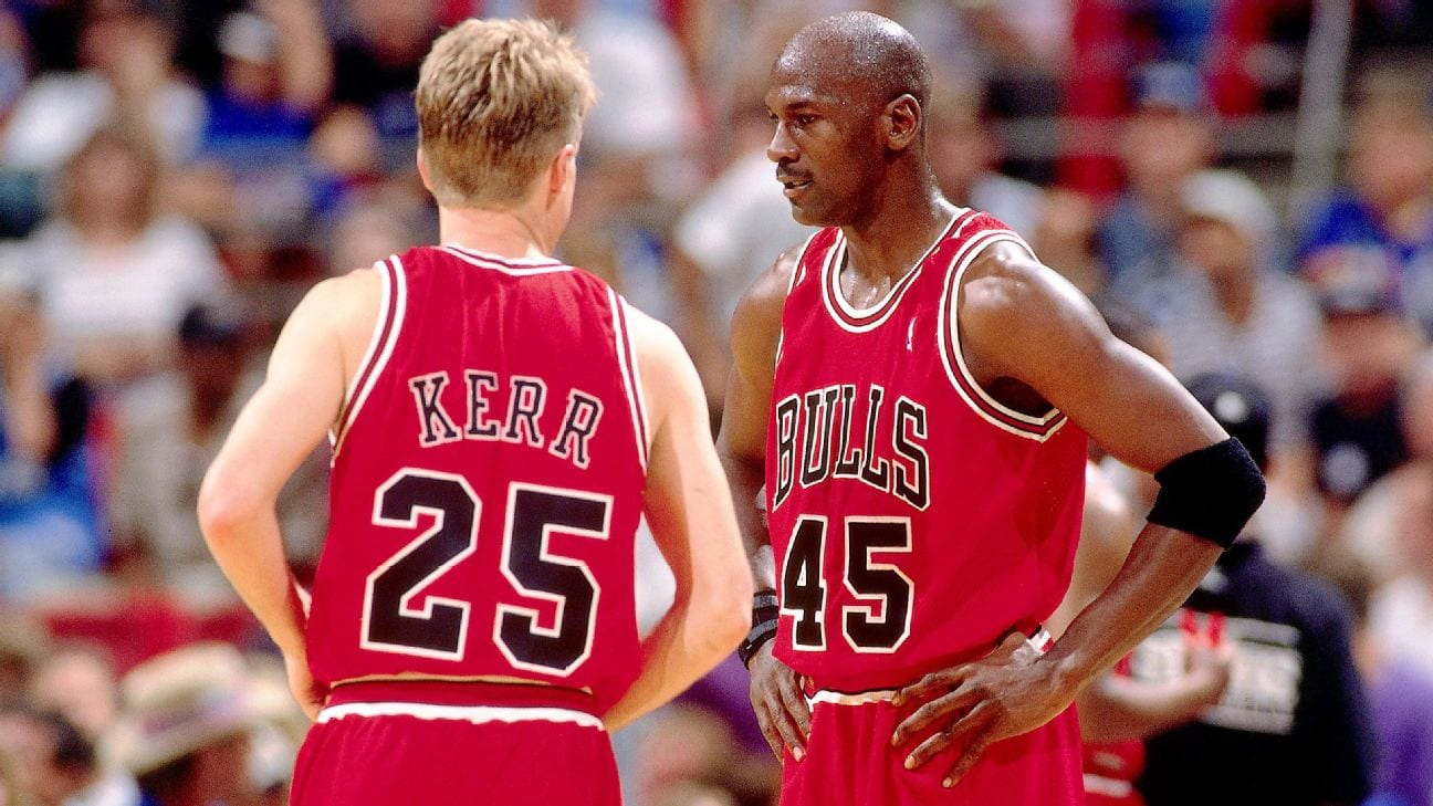 Steve Kerr Stunned by Michael Jordan's Vulnerability in 'The Last Dance'
