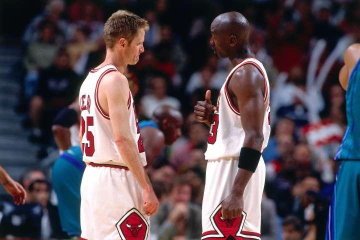 Michael Jordan Steve Kerr The Last Dance