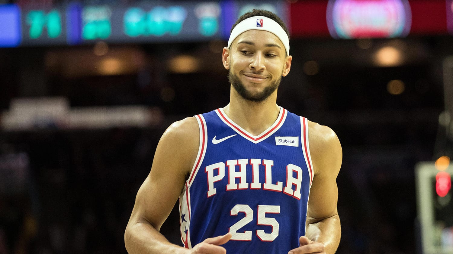 Ben Simmons of the Philadelphia 76ers