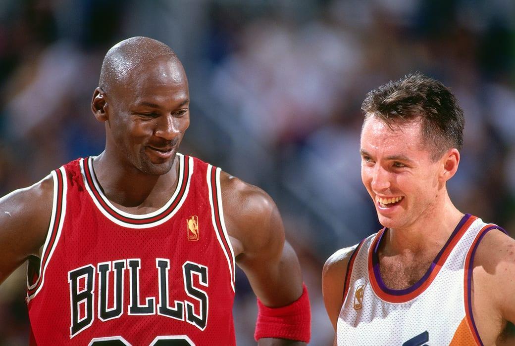 Michael Jordan Steve Nash