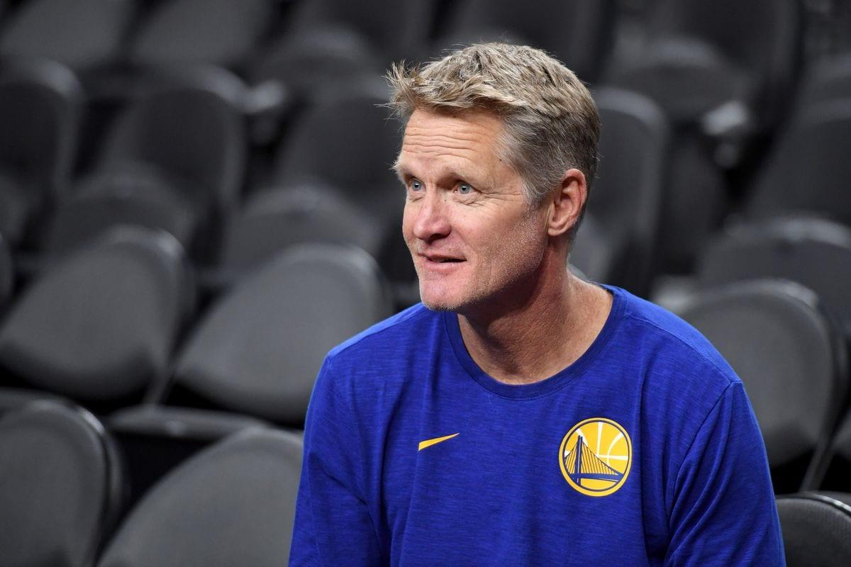Steve Kerr, coach of the Warriors