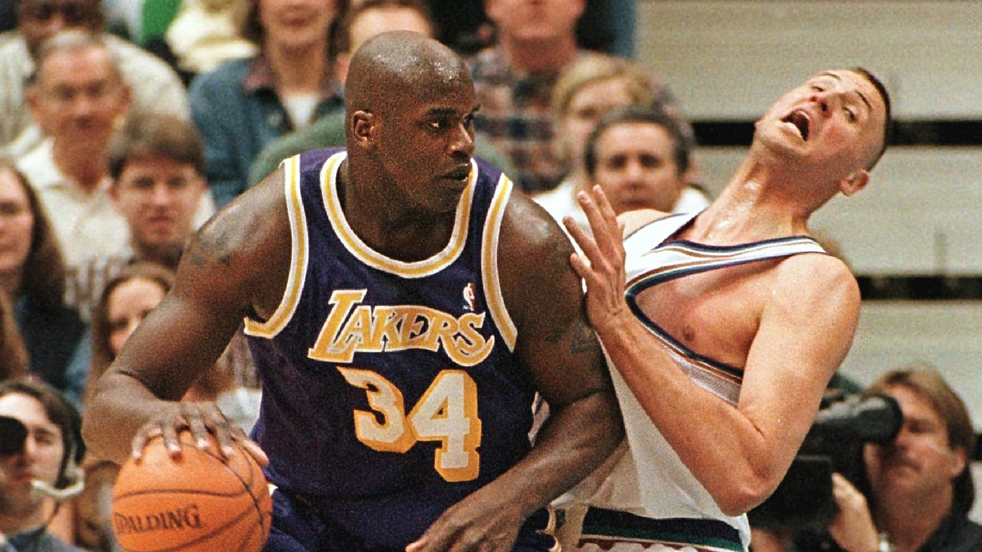Karl Malone: Shaq 'F*cked Greg Ostertag Up For The Rest Of His Life'