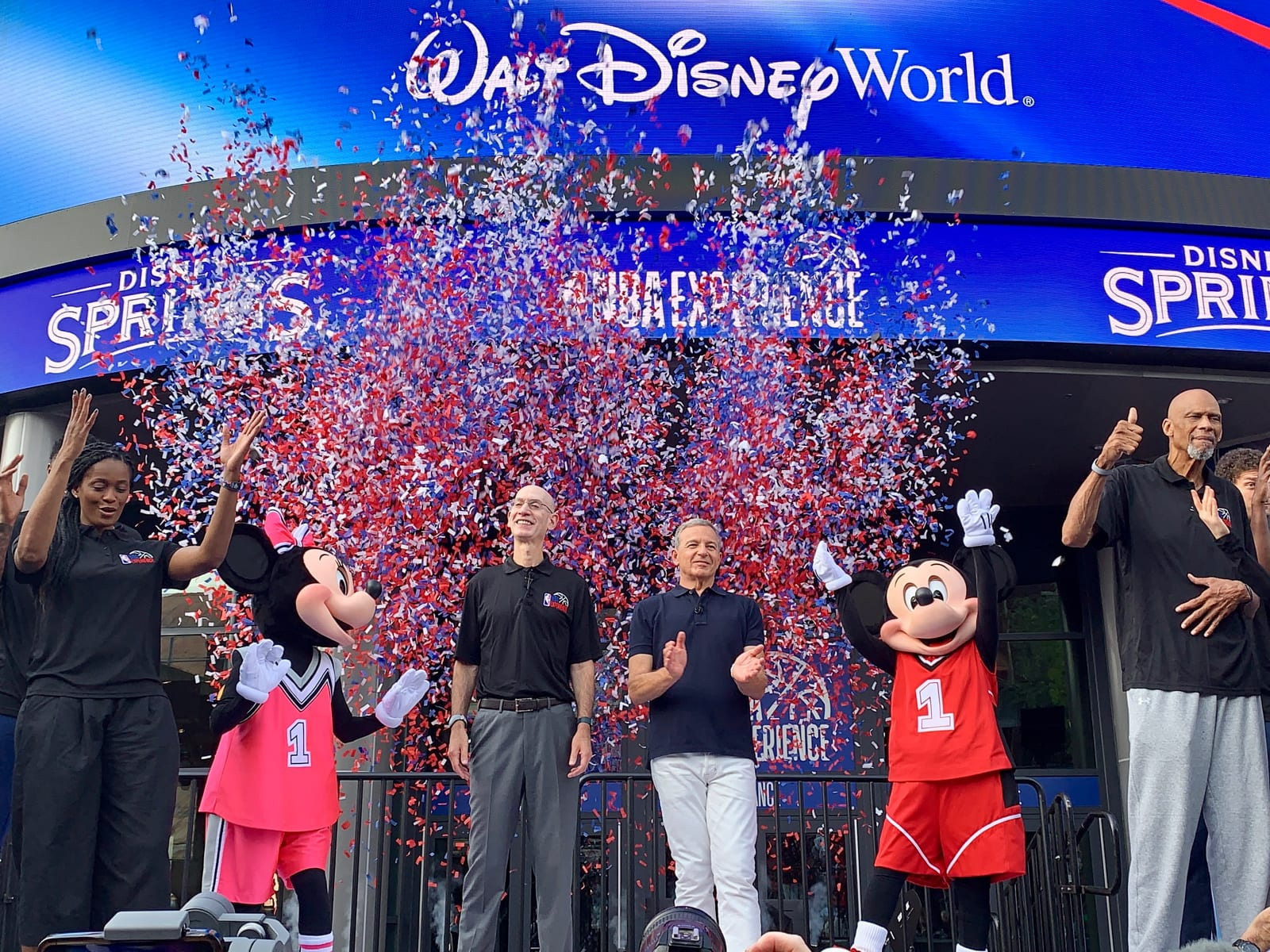 Adam Silver Disney World