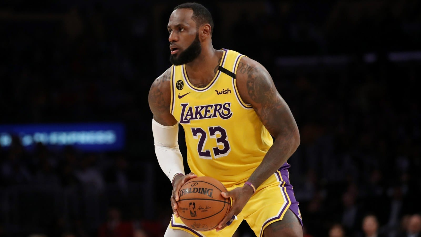 LeBron James and Laker Teammates Practicing In Private Workouts