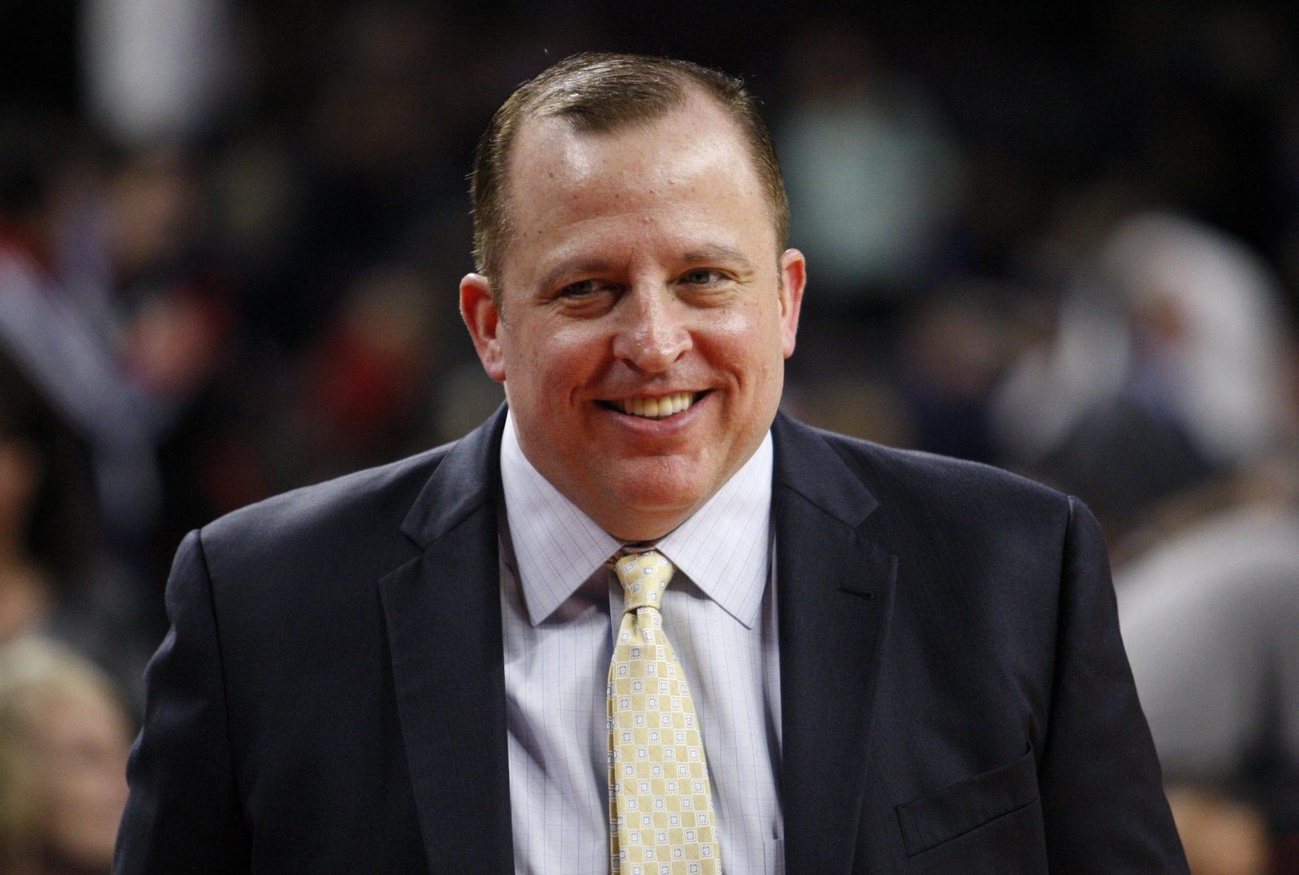 Tom Thibodeau Reportedly Knicks' Top Choice for Head Coach