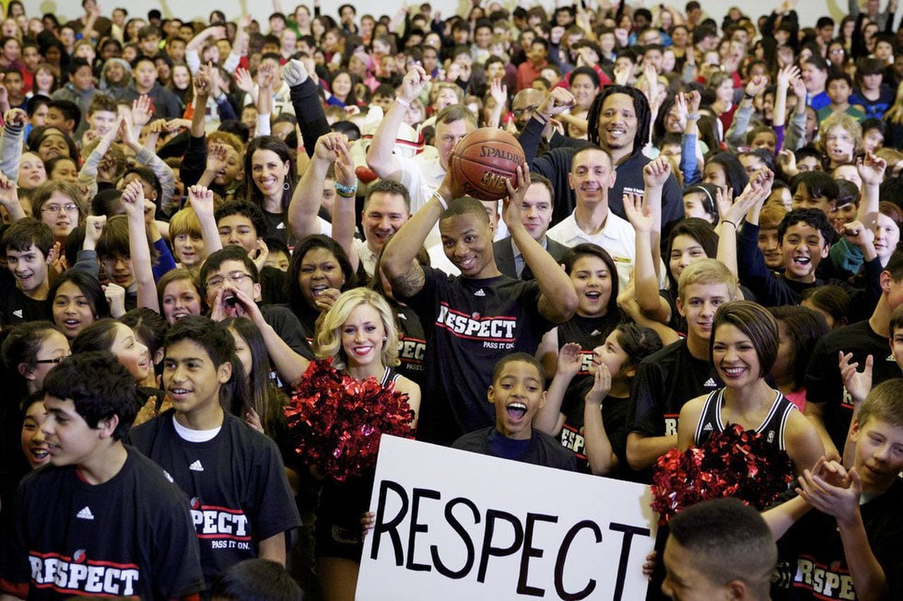 Damian Lillard Community Assist