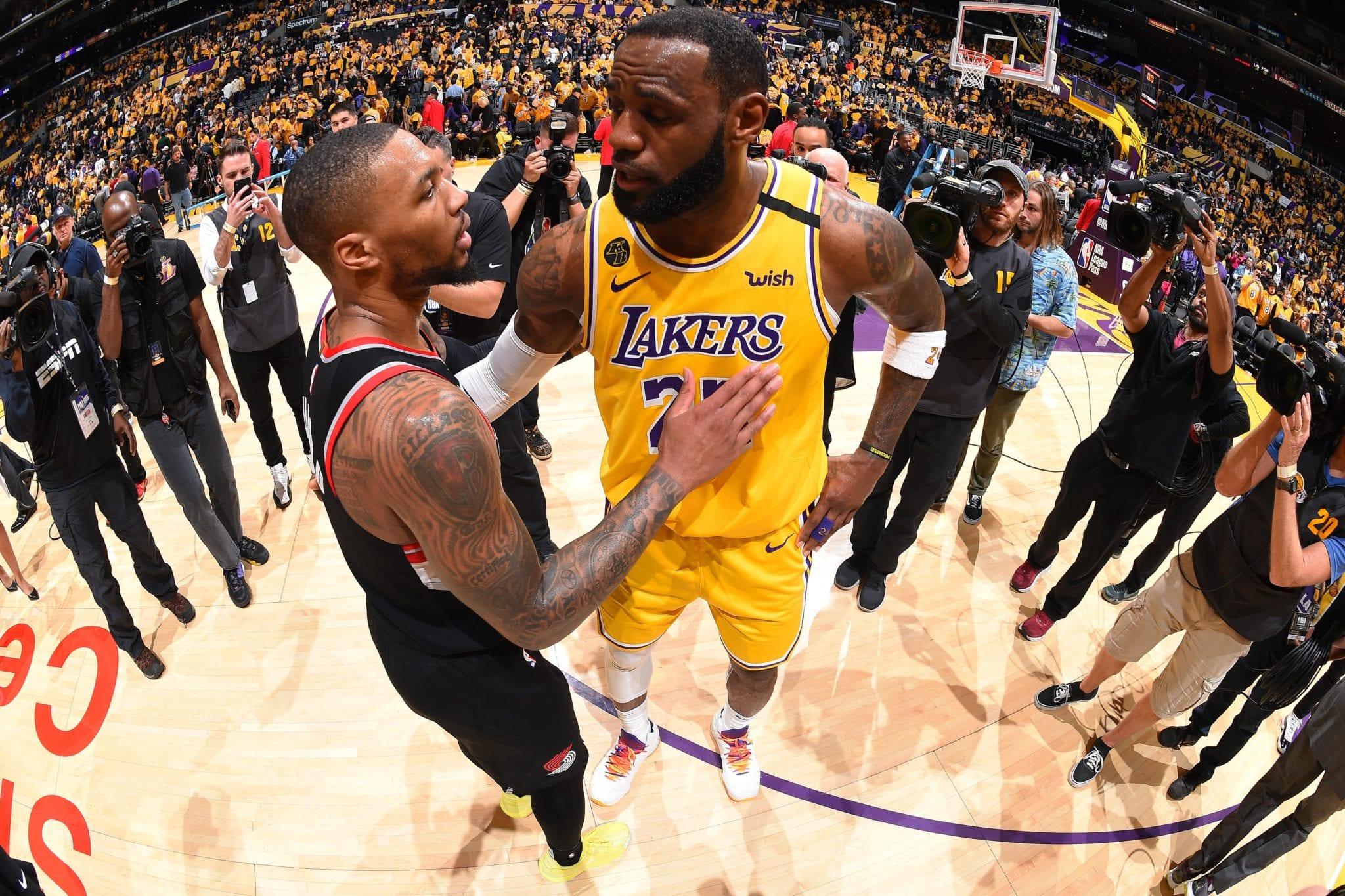 Damian Lillard Says LeBron James Should Be 2019-20 NBA MVP