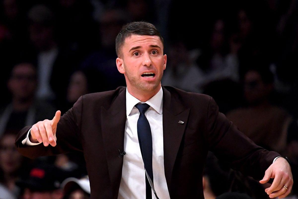 Timberwolves coach Ryan Saunders
