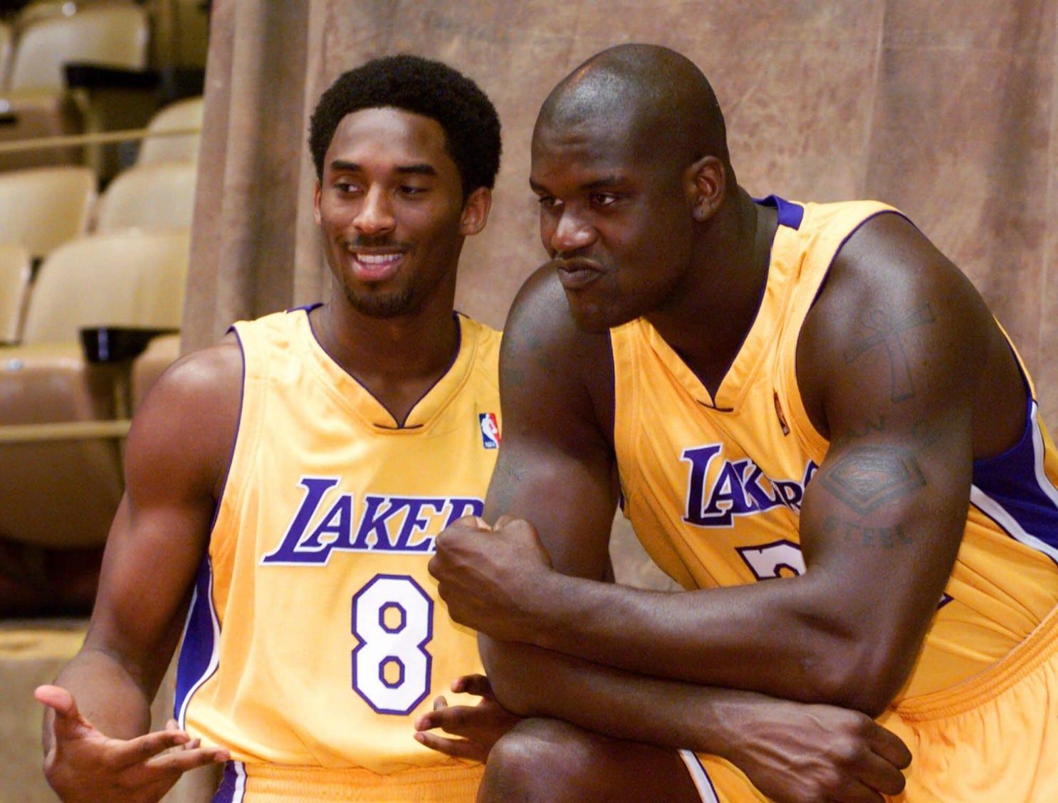 Shaq and Kobe Lakers