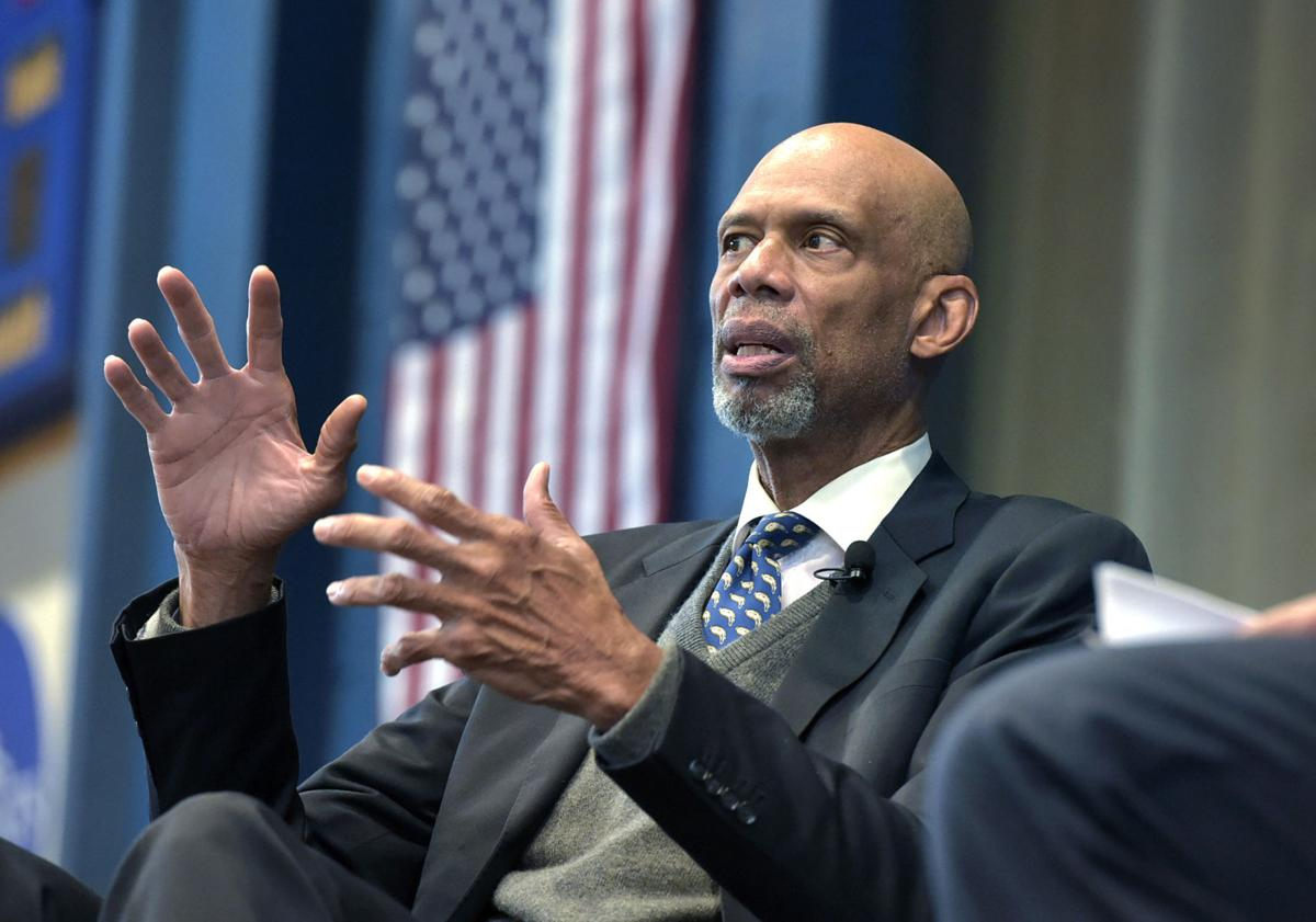 Laker Great Kareem Abdul-Jabbar: 'It's a New Day' in America