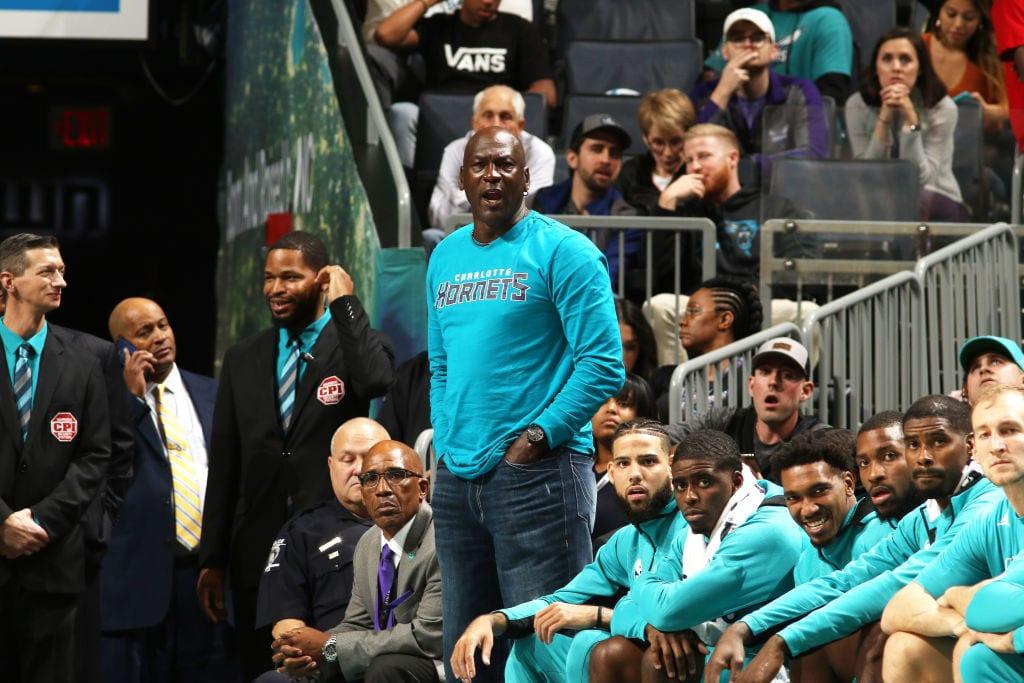 Michael Jordan Hornets